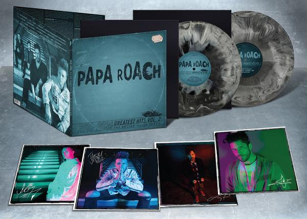 Papa Roach - Greatest Hits Vol. 2 Deluxe LP - Limited Edition