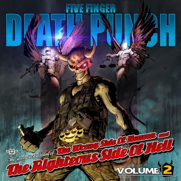 Five Finger Death Punch - Wrong Side Of Heaven & Righteous Side Of Hell Vol. 2 LP