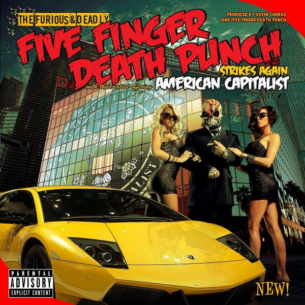 Five Finger Death Punch - American Capitalist (deluxe) CD
