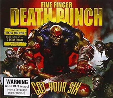 Five Finger Death Punch - Got Your Six (deluxe) CD