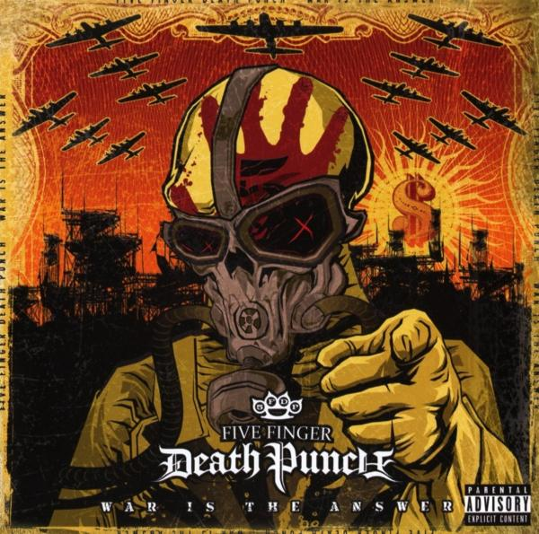 Five Finger Death Punch - War Is the Answer CD