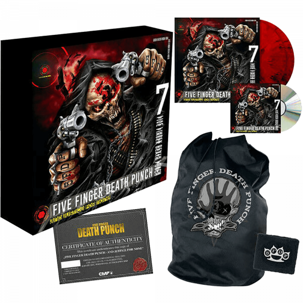 Five Finger Death Punch - And Justice For None BOX